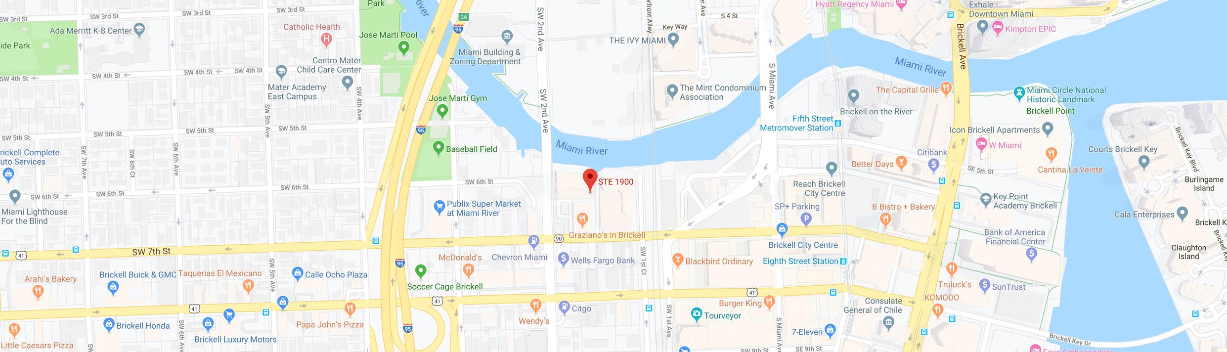 Osorio Int. Google Map Location